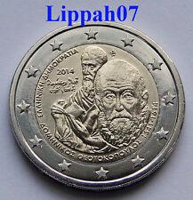 Griekenland speciale 2 euro 2014 Theotokopoulos El Greco UNC