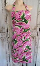 Handmade Watermelon 100% Cotton Women's Apron