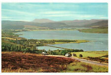 The Dornoch Firth and Kyle of Sutherland From Struie Hill Scotland Rare Postcard
