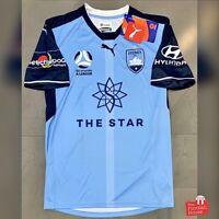 Authentic Puma Sydney FC 2017/18 Home Jersey. BNWT, Size M.
