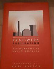 Kraftwerk: Publikation (David Buckley) hardback book OPEN TO OFFERS