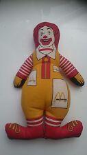 1991 McDonalds vintage plush toy. Ronald McDonald