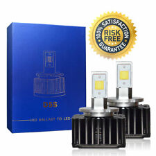 Bright LED Headlight Bulbs Conversion Kit D5S Low Beam For Audi Q7 2017 6000K