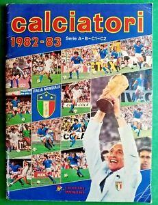 ALBUM CALCIATORI  PANINI COLLEZIONE 1982/83 DA COMPLETARE,MOLTO BELL  - RIF.385