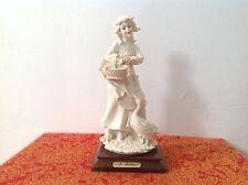 Figurine Capodimonte A. Belcari Marchande D'Oies