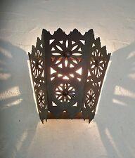 lámpara de pared marroquí hierro forjado k araña farolillo decoración oriental