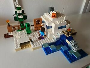 Lego Minecraft 21120 The Snow Hideout Set
