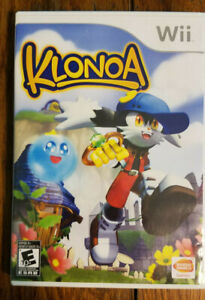 Klonoa - Wii - Complete CIB Rare OOP