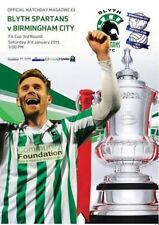 2014/15 - BLYTH SPARTANS v BIRMINGHAM CITY (FA CUP ROUND 3 - JANUARY 3rd 2015)
