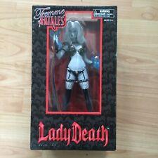 "Diamond Select Femme Fatales 9"" PVC Statue - Lady Death - New Condition"