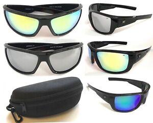 P22 Polarized Sunglasses UV400 Revo Lens/Classic Sport Curved Design Frame+Case
