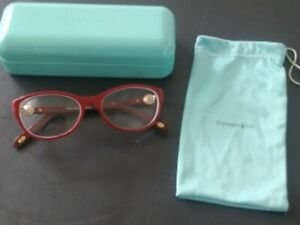 TIFFANY & CO. EYEGLASS FRAMES TF2093 WITH BAG, CASE AND BOX