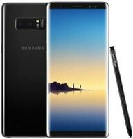 Samsung Galaxy Note 8 Unlocked 64GB Android Smartphone Midnight Black BRAND NEW