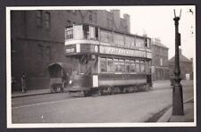 London Lewisham tram #45 on route 50 to Catford c1900/10s? photo by Burrows