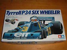 1997 TAMIYA Model TYRRELL P34 SIX WHEELER RACE CAR Kit #20001