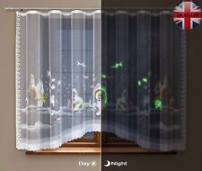 FANTASTIC NEWglow in the dark childrens curtain underwater world  ready to hang