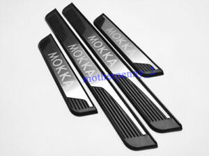 For Vauxhall Opel Mokka X 2012-2021 Stainless Door Sill Scuff Plate Guard Pedal