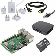 Raspberry Pi 3 16GB Starter/Media Centre Kit (Latest 2018 Model 3B Plus)