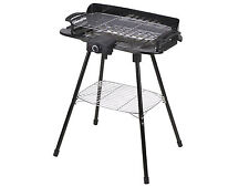 Portable 4 Legged Stand Garden Outdoor Table Top Electric Barbecue BBQ Grill