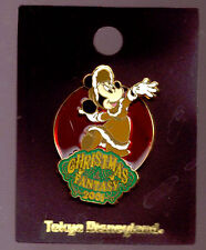 Disneyland Tokyo Stained Glass Christmas Fantasy Minnie Mouse pin On Card