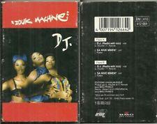 RARE / K7 AUDIO 2 TITRES - ZOUK MACHINE : DJ / SINGLE TAPE
