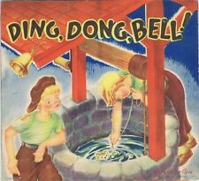 Ding, Dong, Bell, Pop-up Book, J.S. Publishing Co., NY 1930's, Geraldine Clyne