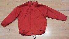 Red Vintage K-way Waterproof Windbreaker Jacket Size M