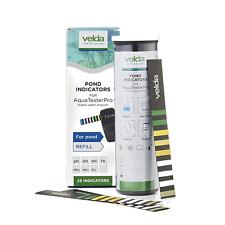 More details for velda aqua tester pro test indicator strips 25 pack refill treatment testing