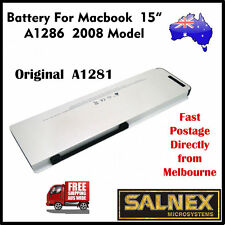 """Genuine Battery A1281 for Apple MacBook Pro 15"""" A1286 - 2008 Model"""