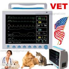 Recorder Icu Vital Signs Patient Monitor 7 Parameter Thermal Printer Veterinary