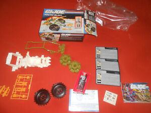 G.I.JOE:  Arctic vehicle - WINDCHILL & BOX