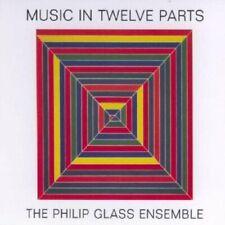 Michael Riesman - Music in Twelve Parts /The Philip Glass Ensemble [CD]