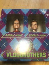 VLOGBROTHERS Hank Green & John Green bobbleheads NIB