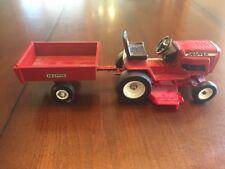 ERTL Snapper Riding Lawn Mower Yard Tractor w Wagon 1/16