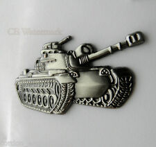 US ARMY M-48 PATTON TANK MILITARY VEHICLE PIN BADGE 2 X 1 inches