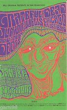 Grateful Dead The Doors Jr. Wells  BG Fillmore Concert Handbill Card 1967
