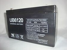 UPG 6VOLT 12AH RECHARGEABLE SLA 6V DEEP-CYCLE SEALED LEAD ACID BATTERY UB6120