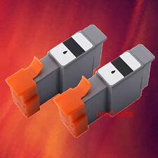 2 BCI-24 BK BLACK INK FOR CANON i250 i320 i450 MP370