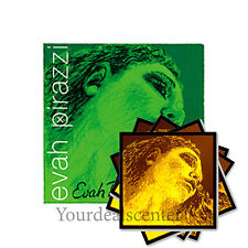 "^ Evah Pirazzi Violin String Set 4/4/ ""Evah Pirazzi Gold"" Steel E Ball STARK"