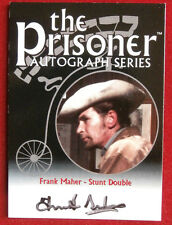 THE PRISONER Volume 1 - FRANK MAHER Autograph Card - Cards Inc 2002 - PA9