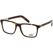 NEW AND AUTHENTIC MONT BLANC MB0737 052 Brown Tortoise 55mm