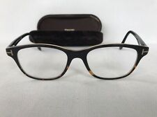 Designer Tom Ford glasses frames mens TF5196 005 black square full rim Italy