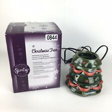 Retired Scentsy Premium Christmas Tree 2 Tiers Wax Warmer Holiday Collection
