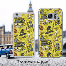 Hufflepuff Yellow Hedwig Owl Case Cover