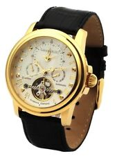 "Calvaneo Orig "" Evidence Diamonds Yellow Gold "" Dualtime Automatic Traumuhr"