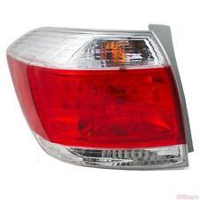 OEM TOYOTA HIGHLANDER TAIL LIGHT DRIVER SIDE 81560-0E070 FITS 2010-2013