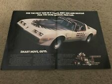 1989 Pontiac 20th Anniversary Trans Am Indy 500 Pace Car Photo Poster 0030