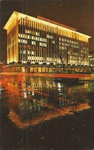 WASHINGTON, D.C. - National Geographic Headquarters- Night Illumination