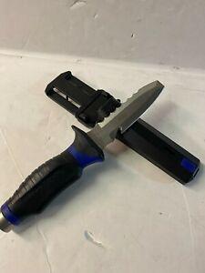 Underwater Kinetics Blue Tang knife for scuba diving