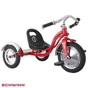 SCHWINN ROADSTER CHILDREN'S KIDS RETRO TRICYCLE TRIKE RED NEW FREE UK P&P